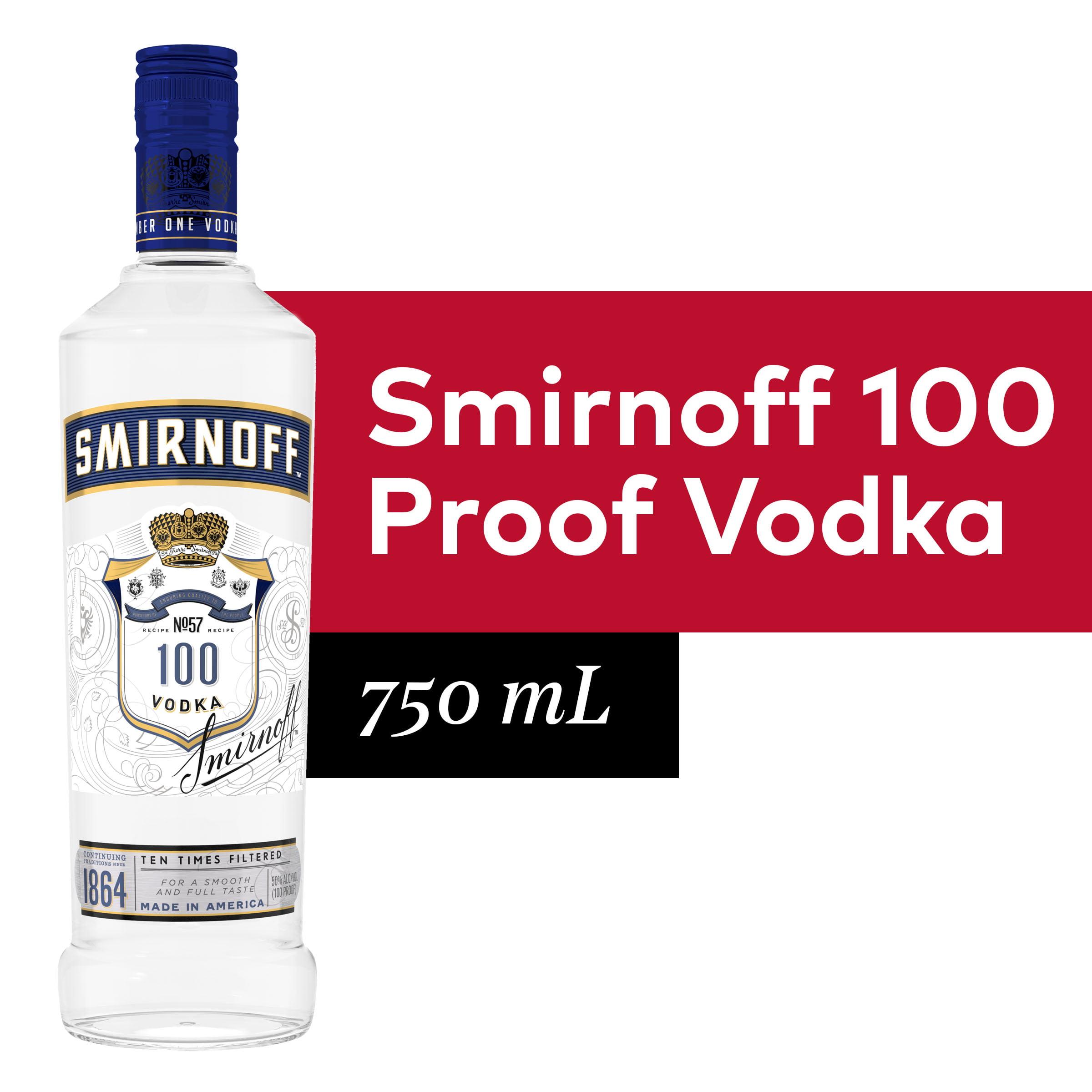 Smirnoff No 57 Award Winning 100 Proof