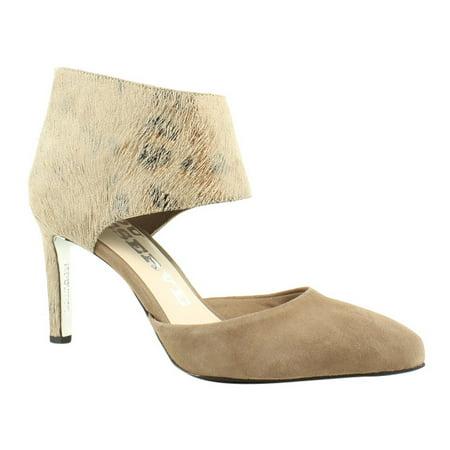 LS Revolution Womens  Gray Pumps, Classic Heels Size 7.5 (Best Dress Shoes For Grey Suit)