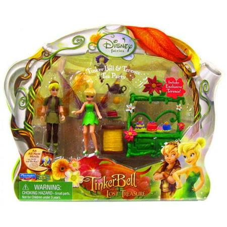 Tinker Bell & Terence Tea Party Playset Disney Fairies