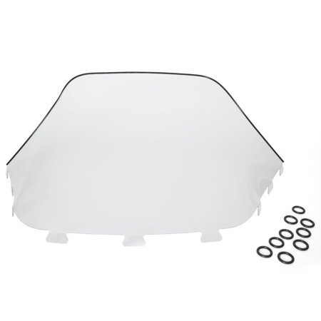 Kimpex Snowmobile Windshield Front - Ski-doo - Polycarbonate OEM# 580545600 Clear  #274751