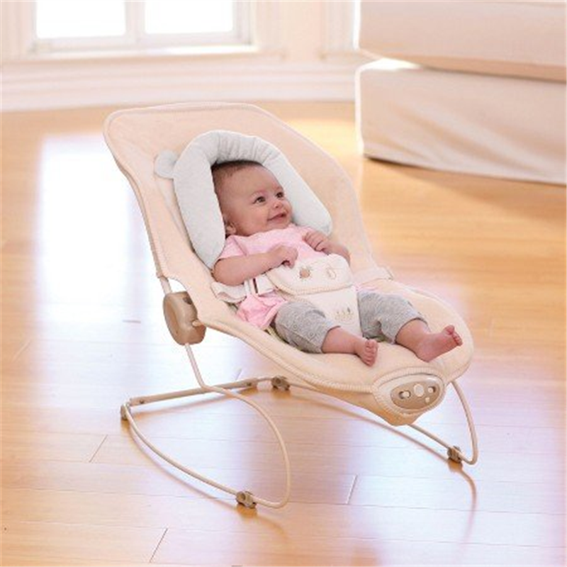 Eddie Bauer Baby Infant Head & Neck Support Bunny Great For Car Seats, Bouncers & Strollers by