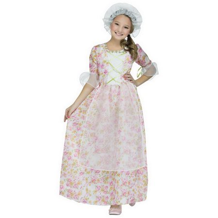 Funworld FNW-90404C-C Colonial Cap & Apron Adult Costume Kit, One Size - Colonial Outfits