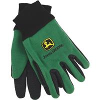 YOUTH GREEN JERSEY GLOVE JD00002/Y