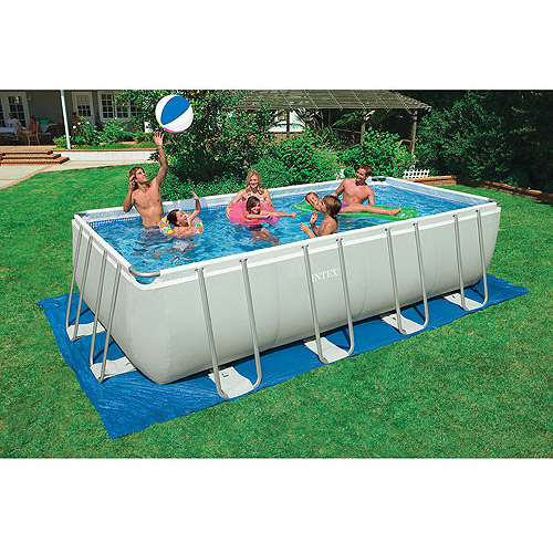 "Intex 18' x 9' x 52"" Ultra Frame Swimming Pool"