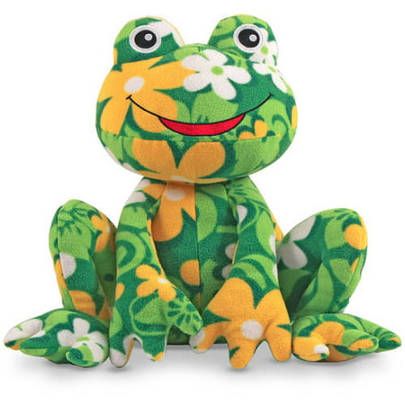 Melissa   Doug Lily Frog   Patterned Pal Stuffed Animal