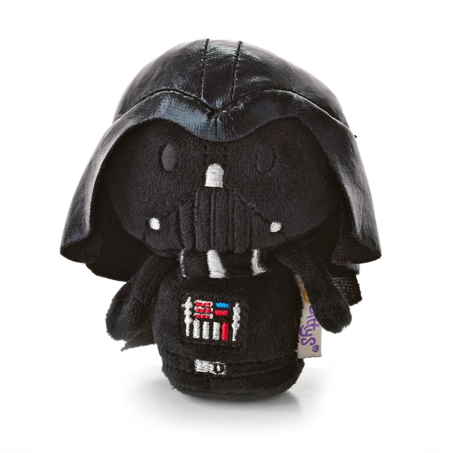 """itty bittys Star Wars Darth Vader Stuffed Animal, This tiny version of Darth Vaderâ""""¢ might be small, but he's still ready to take over the galaxy..., By Hallmark"""