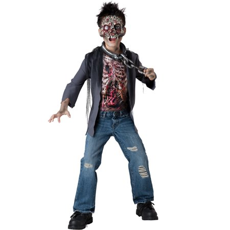 Unchained Horror  Zombie Walking Dead Boys Kids Child Halloween Costumes