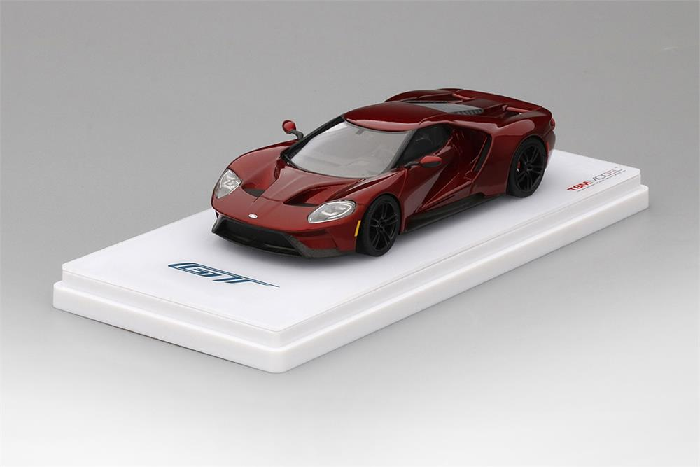 Ford Gt In Liquid Red In  Scale By Truescale Miniatures