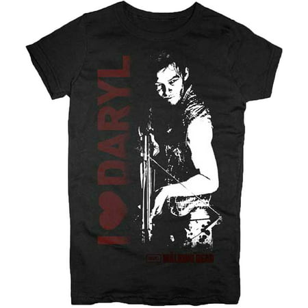 The Walking Dead I Heart Daryl Juniors T-Shirt