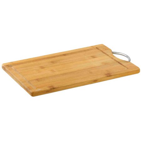 Home Basics Bamboo Cutting Board with Handle