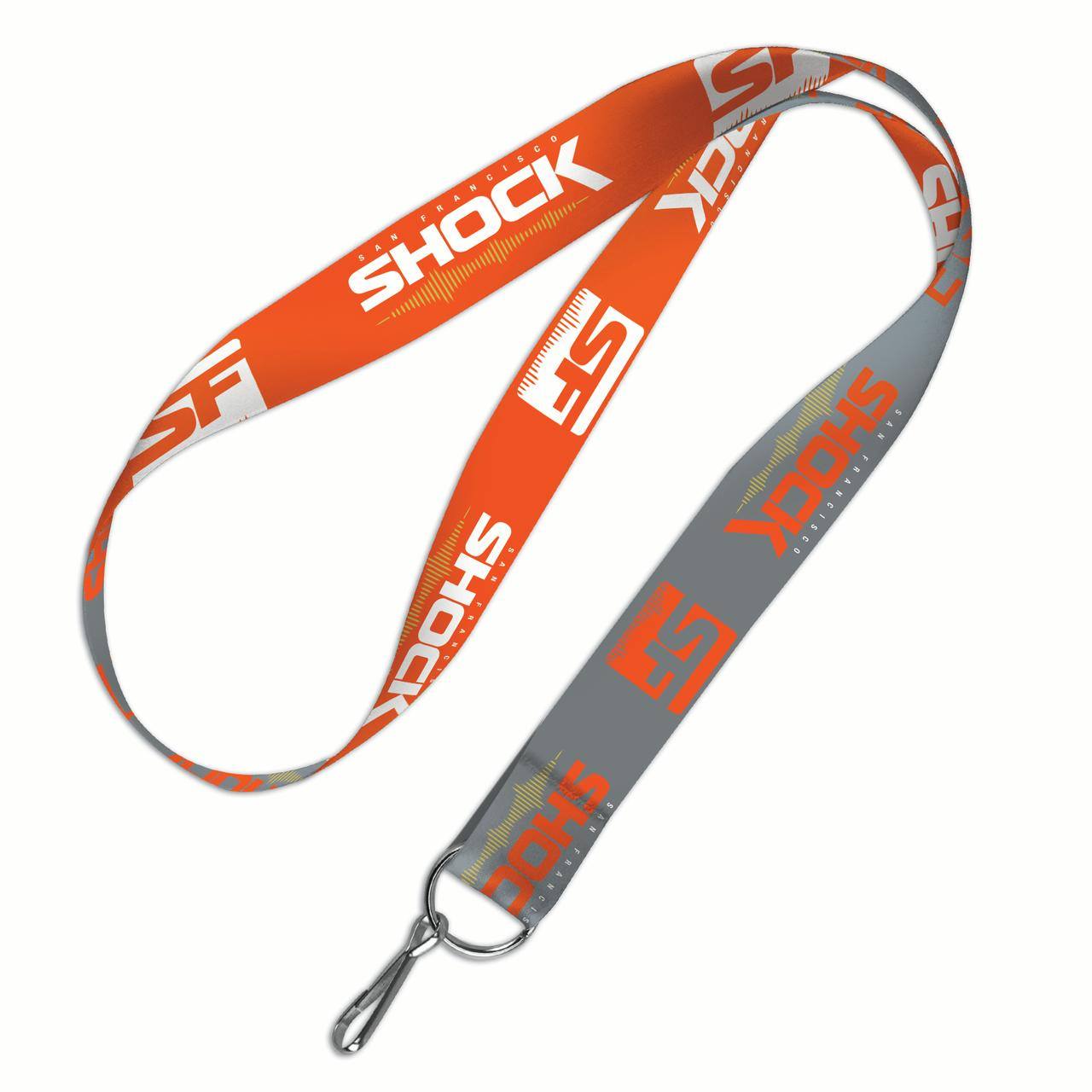 San Francisco Shock WinCraft Wordmark Lanyard - No Size