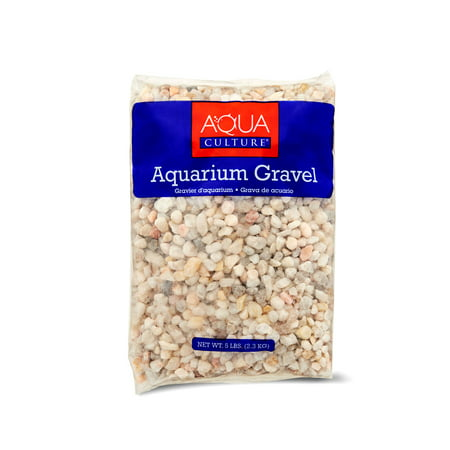 - (2 Pack) Aqua Culture Aquarium Gravel, Ocean Beach, 5-Pound