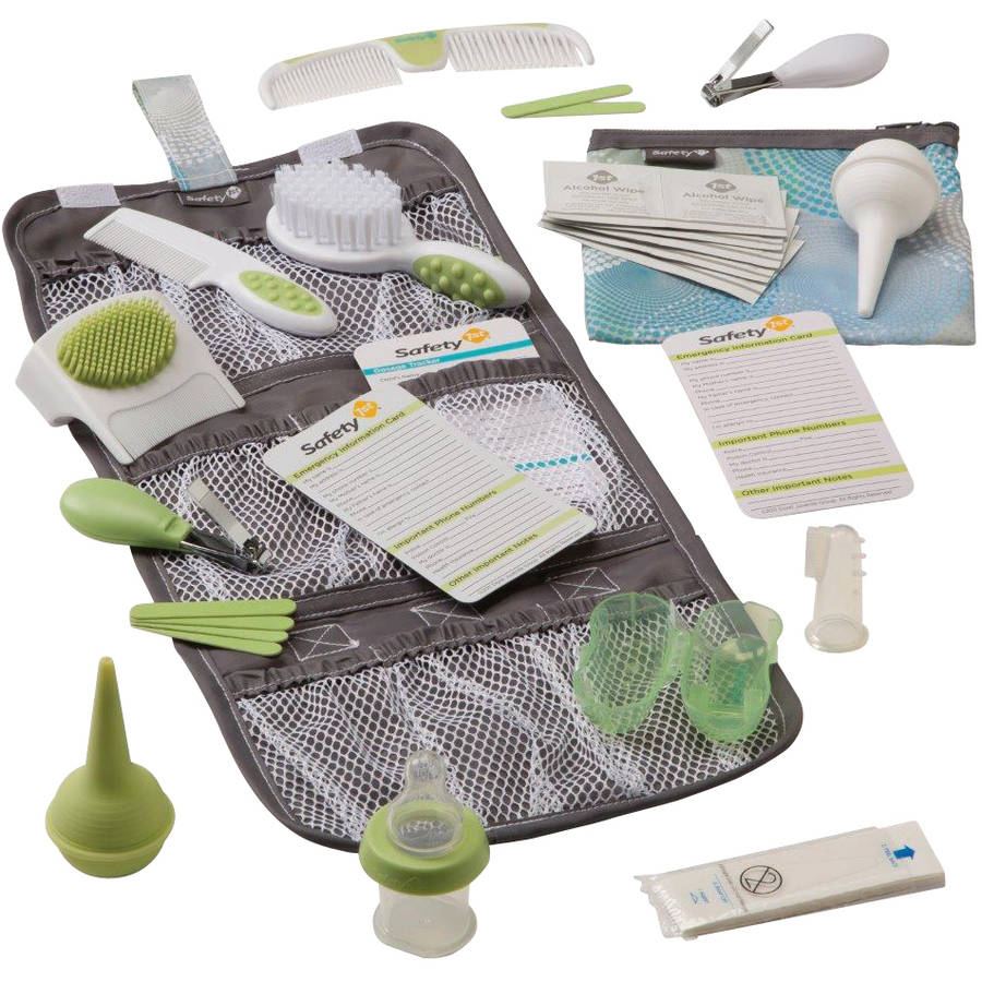Safety 1st Stock Up For Baby Health & Grooming Kit, 21 pc