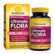 - Ultimate Flora Probiotic Women's Care - 25 billion - probiotics for women - daily digestive and immune health supplement - 30 vegetable capsules,.., By Renew Life