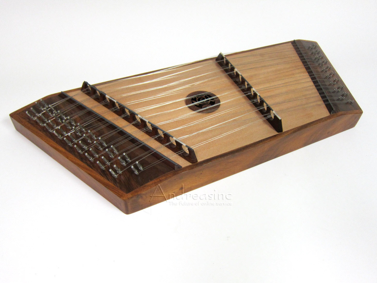 Hammer Dulcimer, 10 Treble 9 Bass Strings w  Hammers by Roosebeck