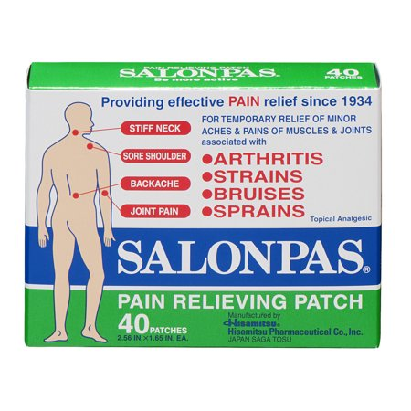 Salonpas Pain Relieving Patches - 40 CT