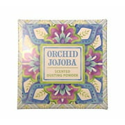 Greenwich Bay ORCHID JOJOBA Dusting Powder, After-Bath Body Powder, 4 oz.
