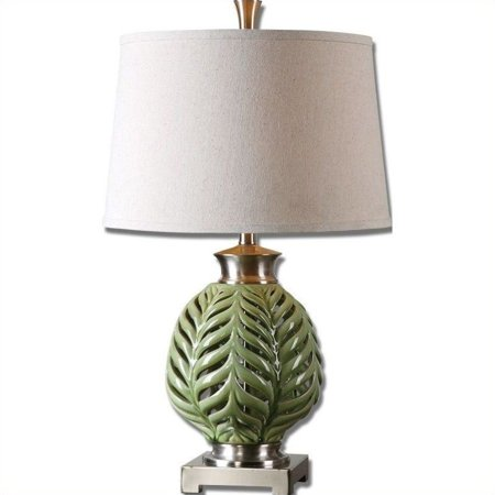 Pressure Flo Lamp (Uttermost Flowing Fern Green Table)