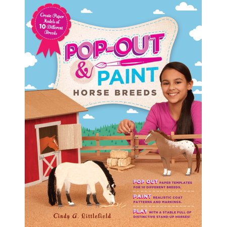 Pop-Out & Paint Horse Breeds - Paperback (Kid Friendly Horses For Sale In Texas)