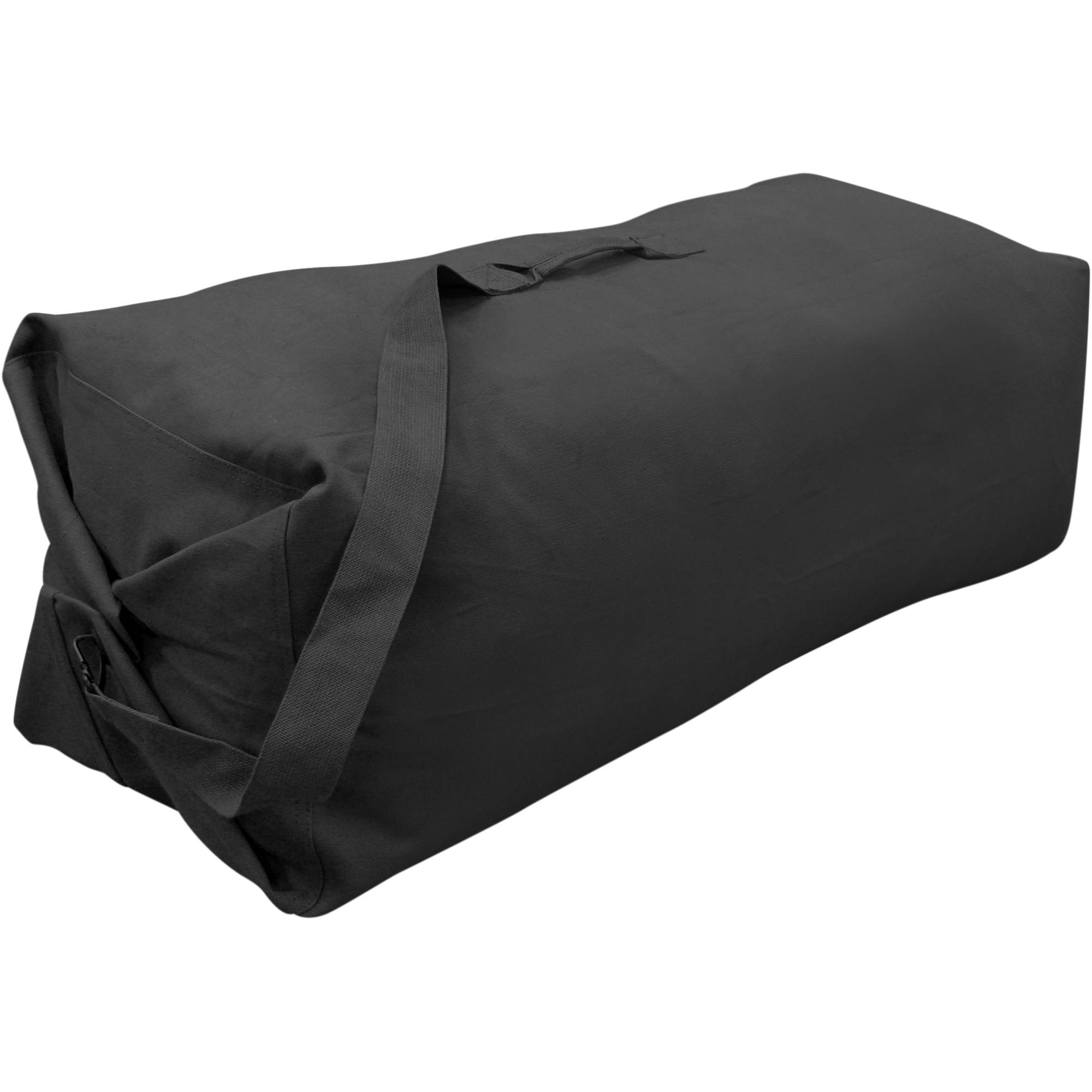 Stansport G.I. Style Cotton Duffel Bag with Strap