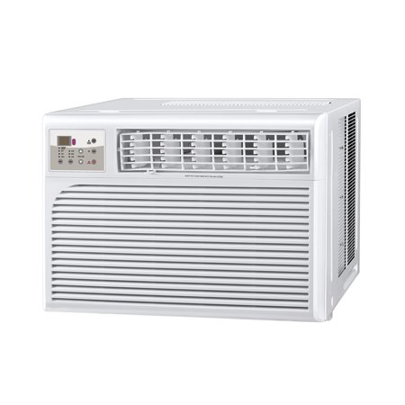 - Cool-Living 15,000 BTU 115-Volt Window Air Conditioner with Digital Display and Remote, White