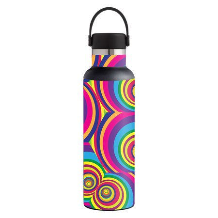 Skin For Hydro Flask 21 oz. Standard Mouth - Groovy 60s | MightySkins Protective, Durable, and Unique Vinyl Decal wrap cover | Easy To Apply, Remove, and Change Styles