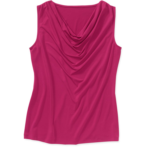 George Career Essentials Women's Sleeveless Poly Span Jersey Top