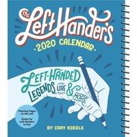 The Left-Hander's 2020 Weekly Planner Calendar (Other)