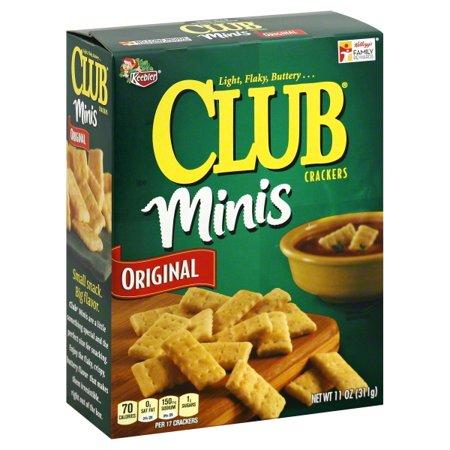Keebler Club Minis Original Crackers, 11 Oz. ()