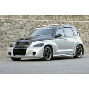 Xenon 12649 Body Kit; Incl. Front Replacement Fascia w/Mesh; Right/Left Side Skirts; Rear Bumper Cover; Flush Mount Rear Spoiler; Urethane;