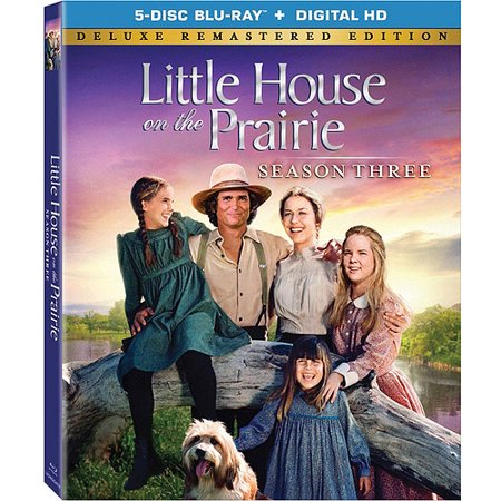 Little House On The Prairie  Season 3 Deluxe Remastered  Blu Ray   Digital Hd   Full Frame