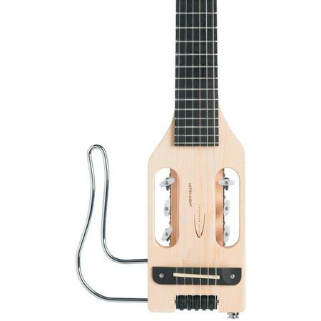 Traveler Ultralight Travel Guitar - Ultra-Light Acoustic-Electric Travel Guitar Left-Handed Natural