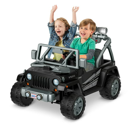 Power Wheels Jeep Wrangler Willys Ride On Vehicle