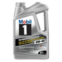 Deals on Mobil 1 Advanced Full Synthetic Motor Oil 0W-40 5-QT