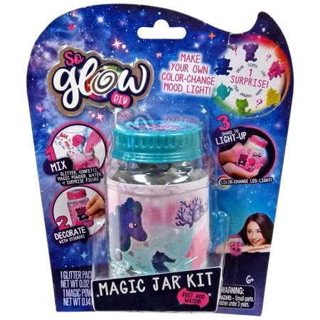 So Glow DIY Mini Magic Jar Chill Kit - Diy Glow Jars