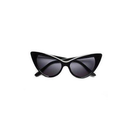 Hot Designer Sunglasses - New Hot Women's Classic Cat Eye Designer Fashion Shades Black Frame Sunglasses