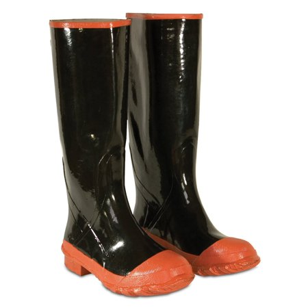 Custom Leathercraft R210015 Bar Thread Red Sole and Toe Rubber Boot, (Size 15) ()