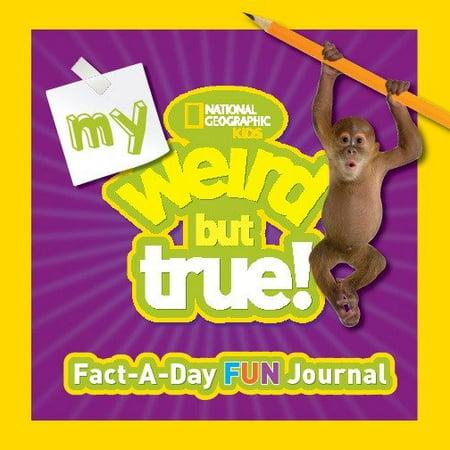 My Weird But True Fact-a-Day Fun Journal](Fun Halloween Journals)