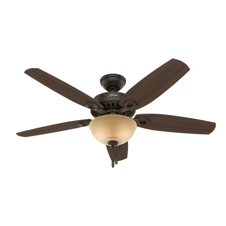 Hunter 52 builder deluxe new bronze ceiling fan with light hunter 52 builder deluxe new bronze ceiling fan with light aloadofball