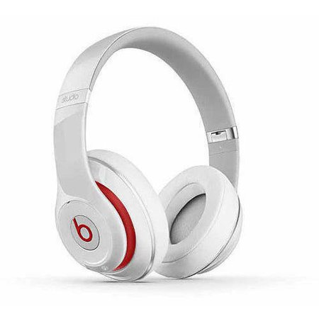 Beats by Dr. Dre Wireless Studio 2.0 Over-the-Ear Headphones, White by