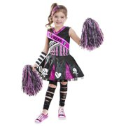 Halloween Girls Gothic Cheerleader M