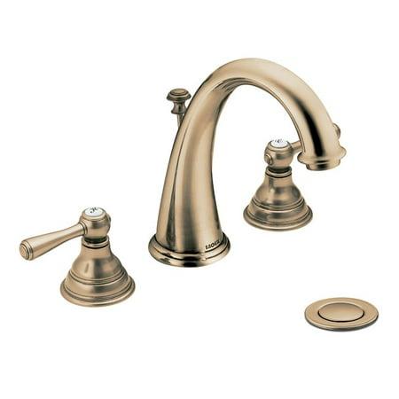 Moen T6125az Kingsley 2 Handle High Arc Antique Bronze Bathroom Faucet