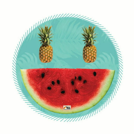 Terry Time Wendy Round Beach Towel