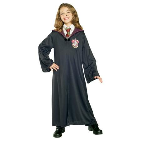 Harry Potter Hermione Granger Child Gryffindor Robe Halloween Costume