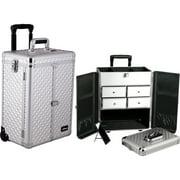 Sunrise E6305DMSL Silver Diamond Split Drawer Textured Case