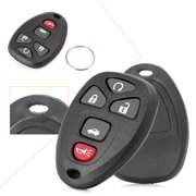 GZYF 2 Keyless Entry Remote Control Key Fob Replacement 5-Button for GM Model 2006 - 2010 Chevrolet Cobalt 2005 - 2009 Buick LaCrosse 2005 - 2010 Pontiac G6