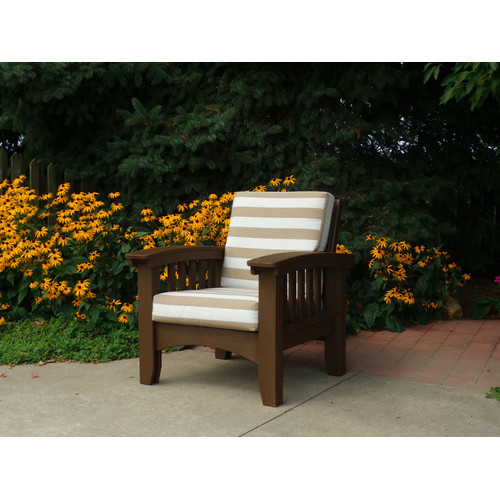 Hershy Way Days End Mission Chair with Cushion