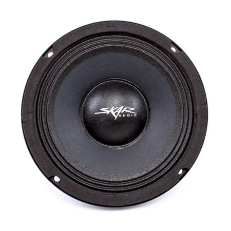 - Skar Audio FSX65-8 300-Watt Single 6.5-Inch 8 Ohm Mid-Range Loudspeaker