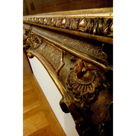 LAMINATED POSTER Frame Border Old Woodwork Picture Wood Wooden Poster Print 24x16 Adhesive Decal - Wooden Poster Frames