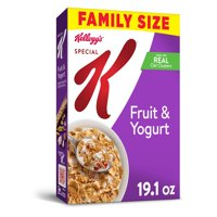 Kellogg's Special K, Breakfast Cereal, Fruit and Yogurt, Family Size, 19.1 Oz